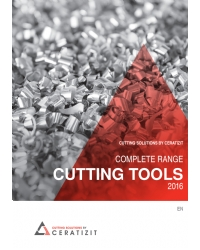 CERATIZIT General Catalogue  Cutting tools 2016