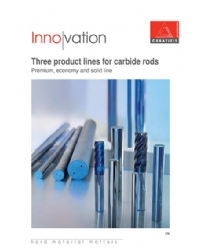 Three product lines for carbide rods