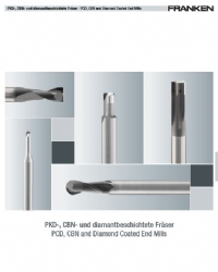 PCD, CBN and Diamond Coated End Mills